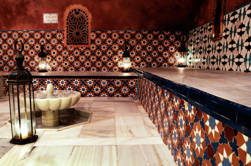 things to do in malaga, 3 day malaga itineraryArab Baths in malaga, Andalusia, Spain
