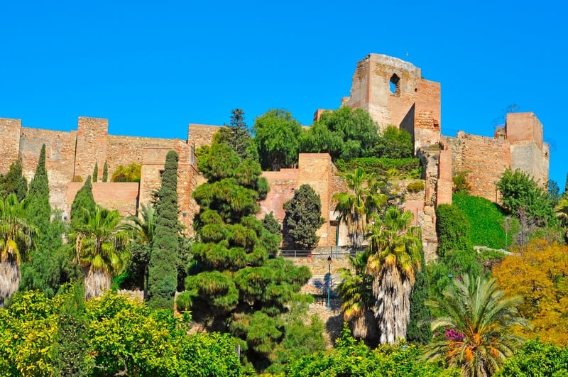 things to do in malaga, 3 day malaga itinerary, Alcazaba castle