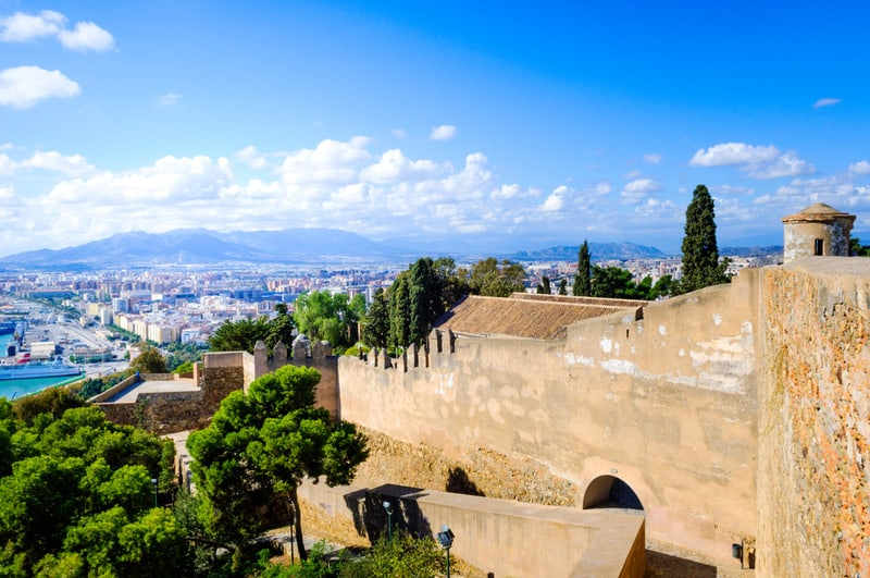 things to do in malaga, 3 day malaga itinerary, Gibralfaro
