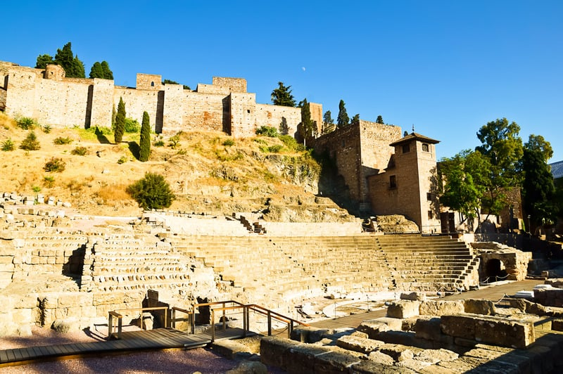 things to do in malaga, 3 day malaga itinerary, the Roman Theater