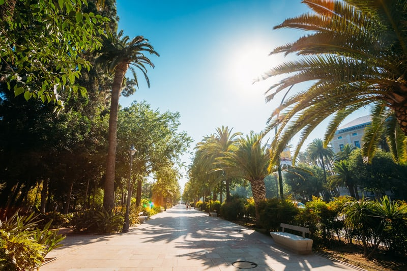 things to do in malaga, 3 day malaga itinerary, Parque de Malaga