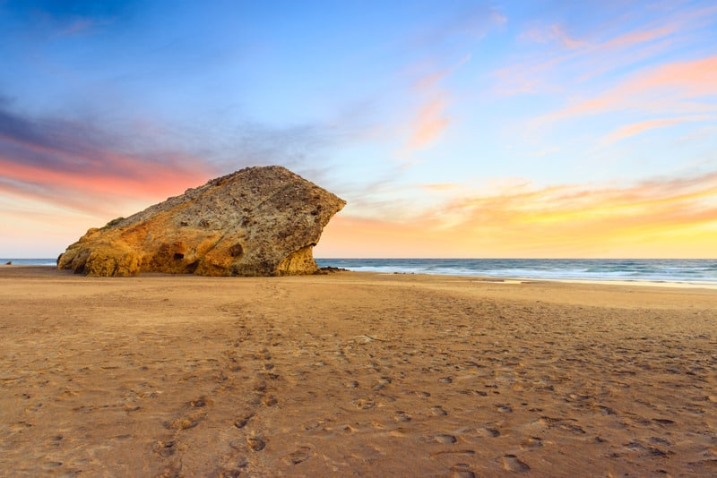 Monsul beach, Cabo de Gata natural park, Almeria, Spain