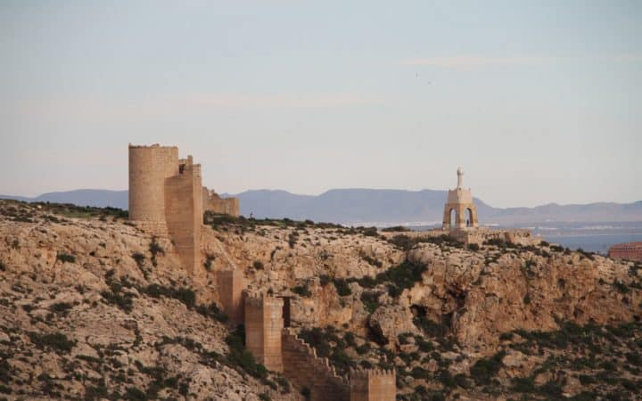 Fortificación de Almeria, things to do in almeria, 3 days in almeria, southern spain
