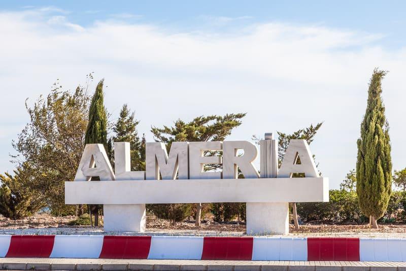 things to do in almeria, 3 days in almeria, southern spain, almeria sign