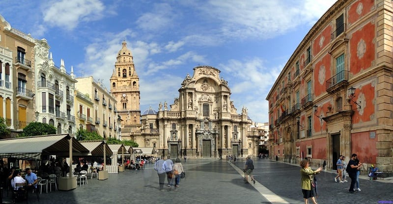 Things to do in Murcia, Plaza Cardenal Belluga