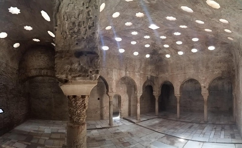 Things to do in Granada, Bañuelo, Ancient Arab Baths