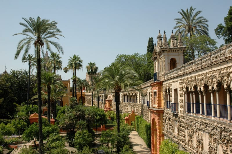 Things to do in Seville, the Real Alcazar Gardens