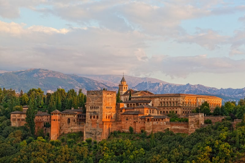 view of alhambra, andalucia guide