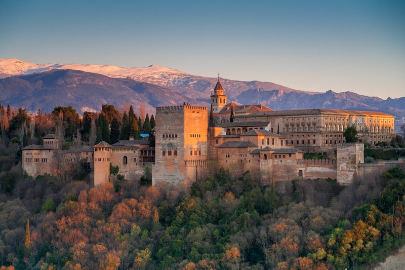 Things to do in Granada, view on the alhambra