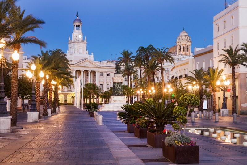 3 day itinerary Cadiz, Plaza de San Juan de Dios
