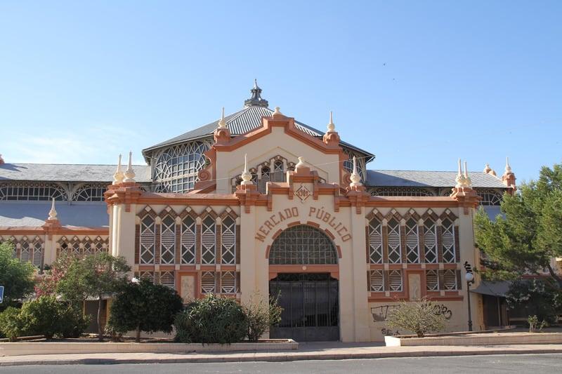 3-day itinerary Murcia, Mercado Publico, market in murcia
