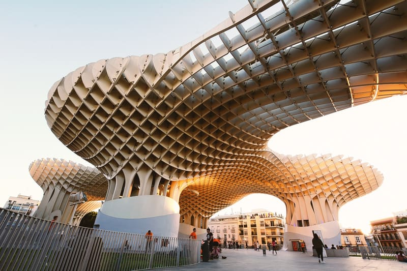 3-day itinerary Seville, Metropol Parasol