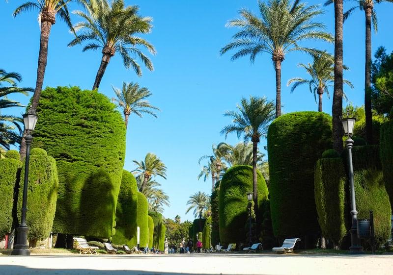 3 day itinerary Cadiz, Parque Genoves
