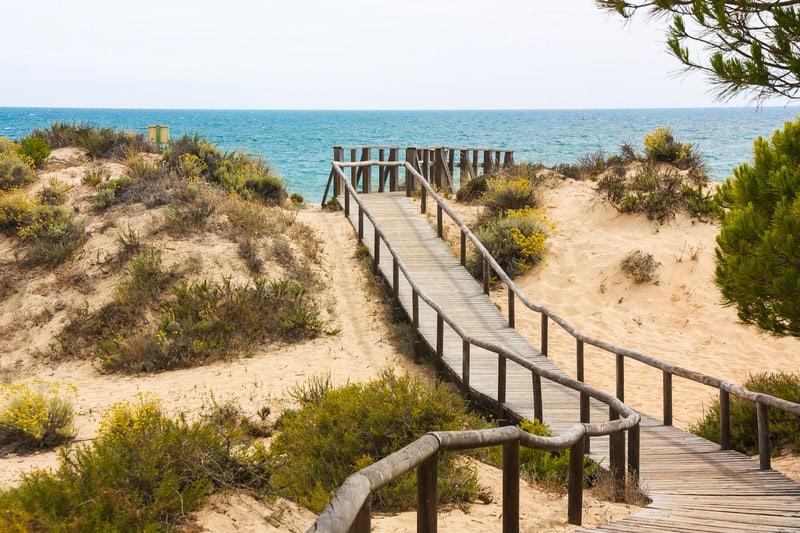 Beach Resorts Near Seville, Punta Umbria