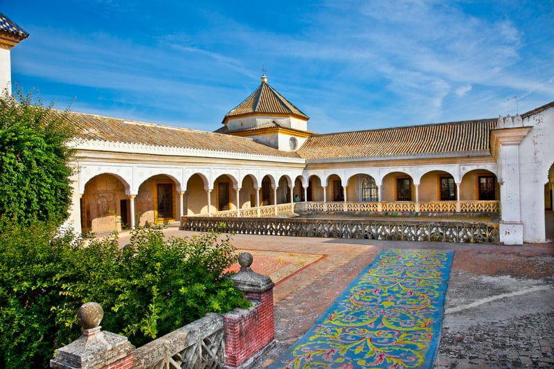 3-day itinerary Seville, Casa De Pilatos