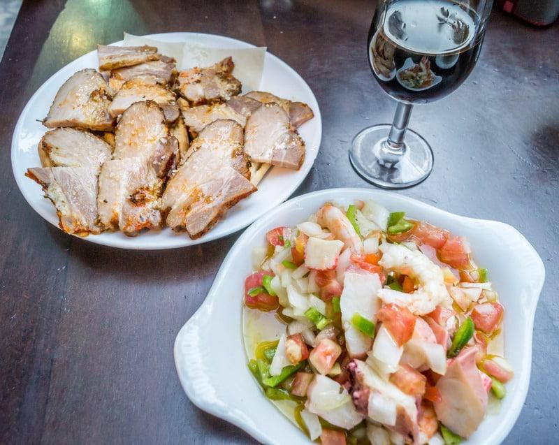 Estepona 3 day itinerary, Lunch at Las Gitanilla, estepona restaurants