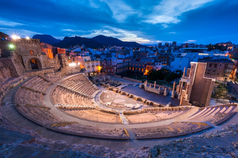 Things to do in Murcia, Roman Theatre