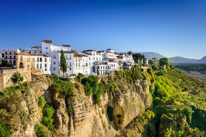 3 day itinerary Cadiz, White village and Ronda