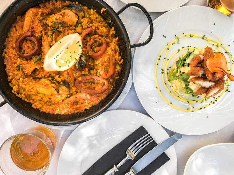3-day itinerary Seville, lunch in Baco Borbolla