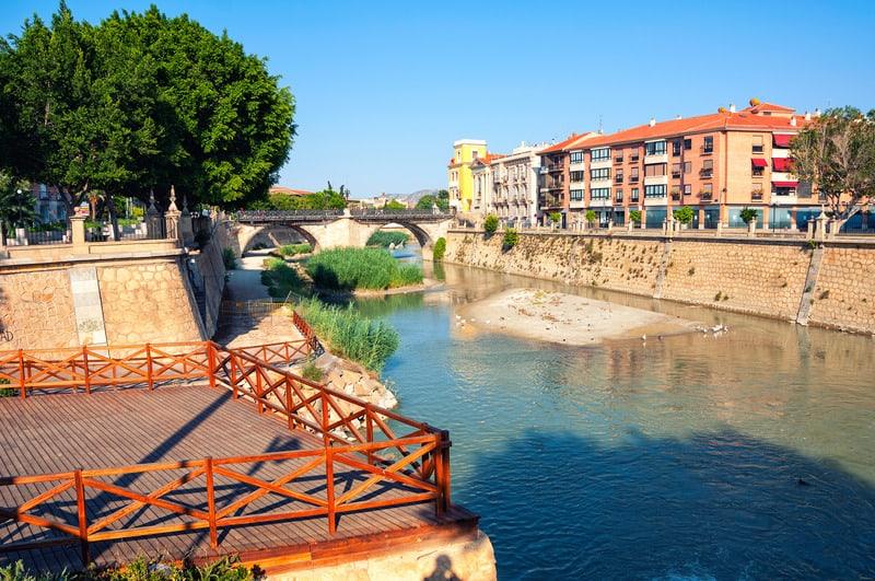 3-day itinerary Murcia, Segura River