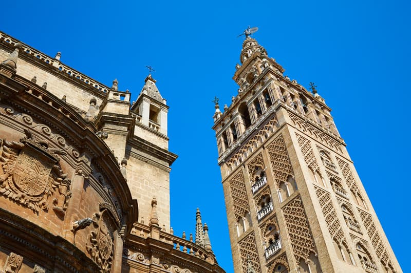 3-day itinerary Seville, La Giralda Tower