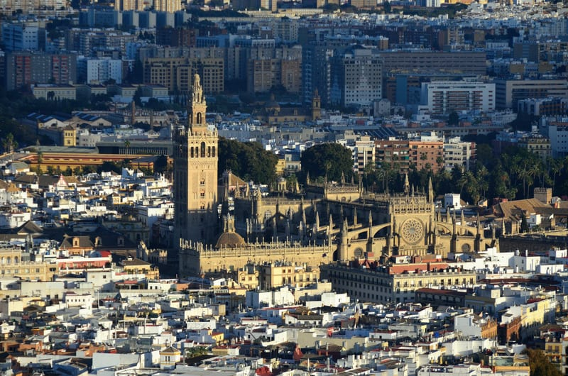3-day itinerary Seville, the famous Cathedral sevilla