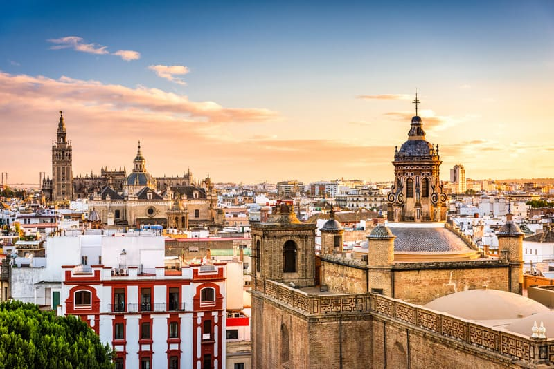 Things to do in Seville, skyline view