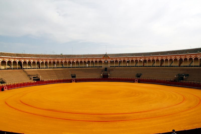 3-day itinerary Seville, Bullring