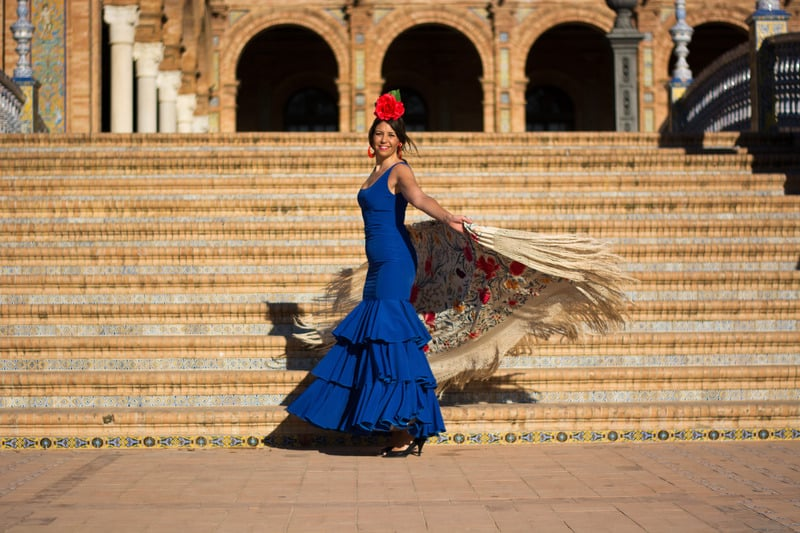 3-day itinerary Seville, Flamenco show