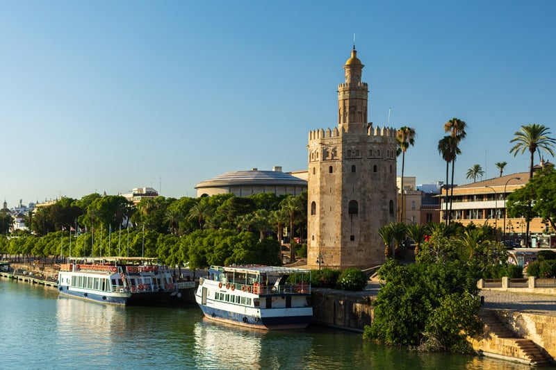 3-day itinerary Seville, Torre de Oro