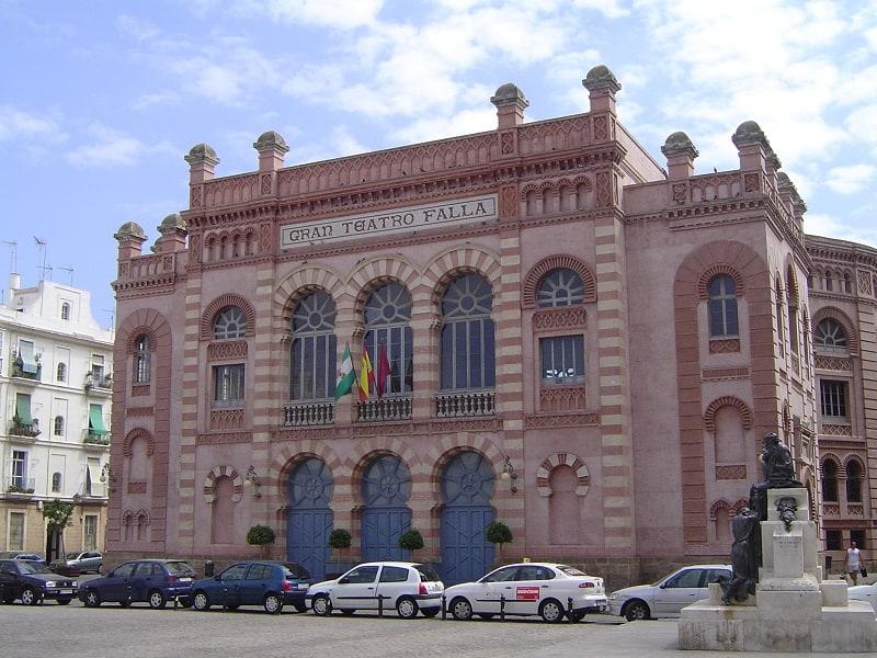 3 day itinerary Cadiz, The Grand Theater Falla