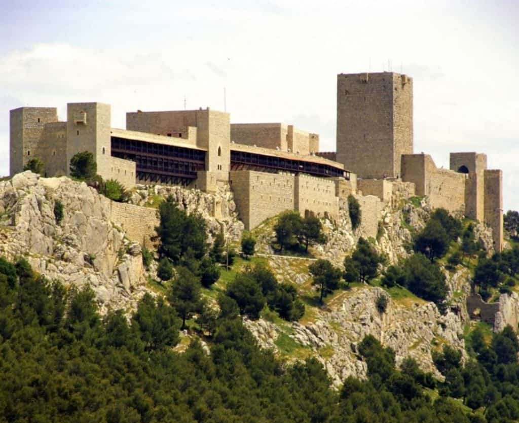 parador jaen, accommodation jaen