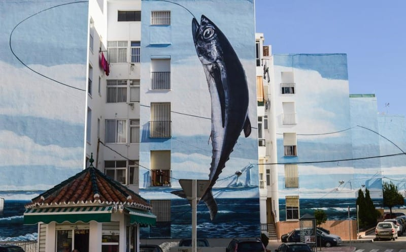 Things to do in Estepona, Ruta de los Murales