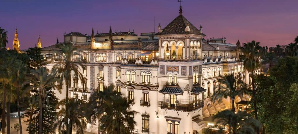 hotels in seville, alfonso xiii hotel