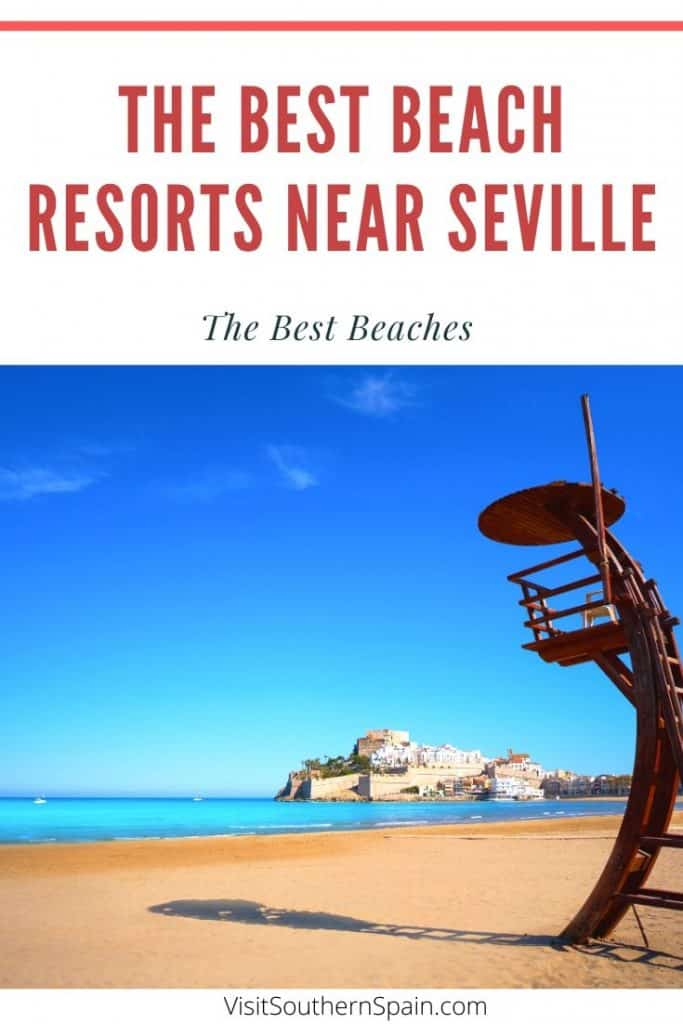 Wondering about beaches in Seville, Spain? Well, you may be surprised but there are plenty of beaches near Seville that you can reach in a short drive. A full guide on the best beach resorts near Seville: no matte you're a surfer, a family or solo traveler...there will be the perfect beach for you! #spain #beachesnearseville #seville #beachesseville #sevillespain #beachresorts #beachresortsspain