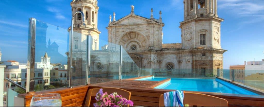 hotel la catedral cadiz, accommodation in cadiz, budget, cheap hotel