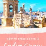 Wondering about things to do in Cadiz, Spain? Find the perfect Cadiz itinerary including the best hotels, food to eat and secret places recommended by a local. Fall in love with one of the prettiest cities in Southern Spain: Cadiz! #cadiz #southernspain #andalucia #visitspain #cadizspain #cadizthingstodo #southernspaincities #cadizattractions #cadizitinerary