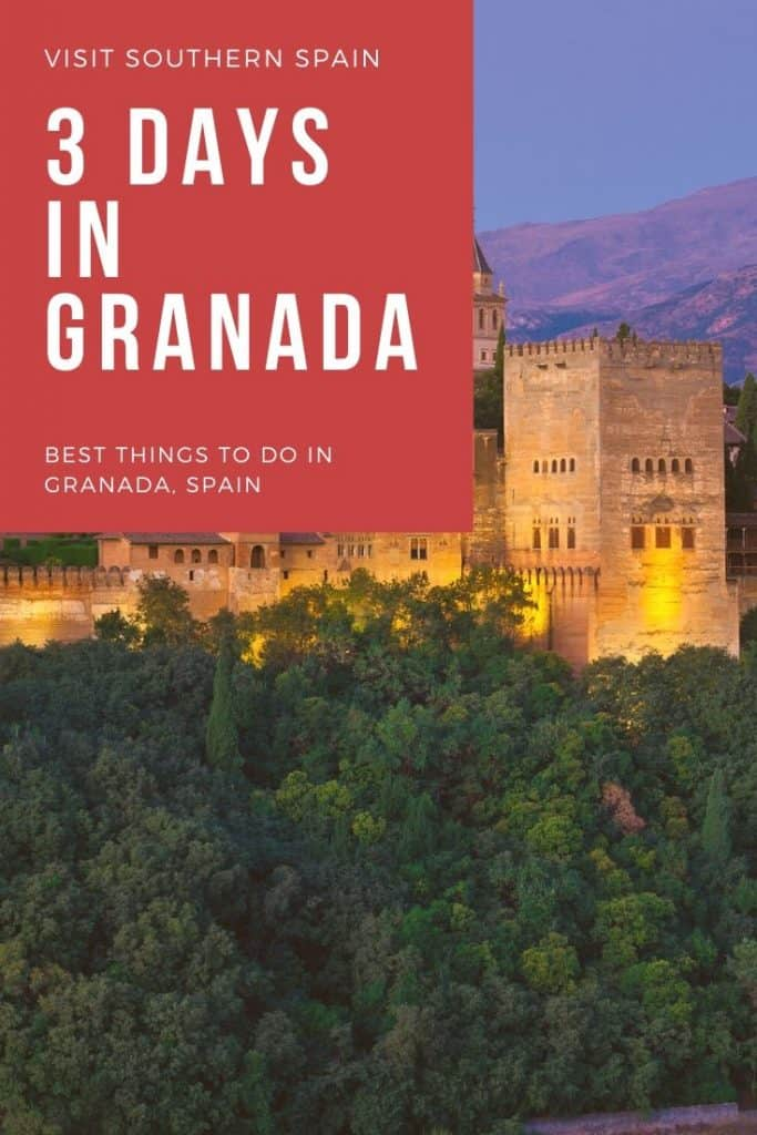 Wondering about things to do in Granada, Spain? A creative Granada itinerary with things to see in Granada, the best tapas in Granada, walking tours and beautiful hotels in Granada, Andalucia. In your opinion, what are the best things to do in Granada? #andalucia #southernspain #andalucia #visitgranada #bestthingstodoingranada #granadaspain #granadaandalucia #granadaphotography