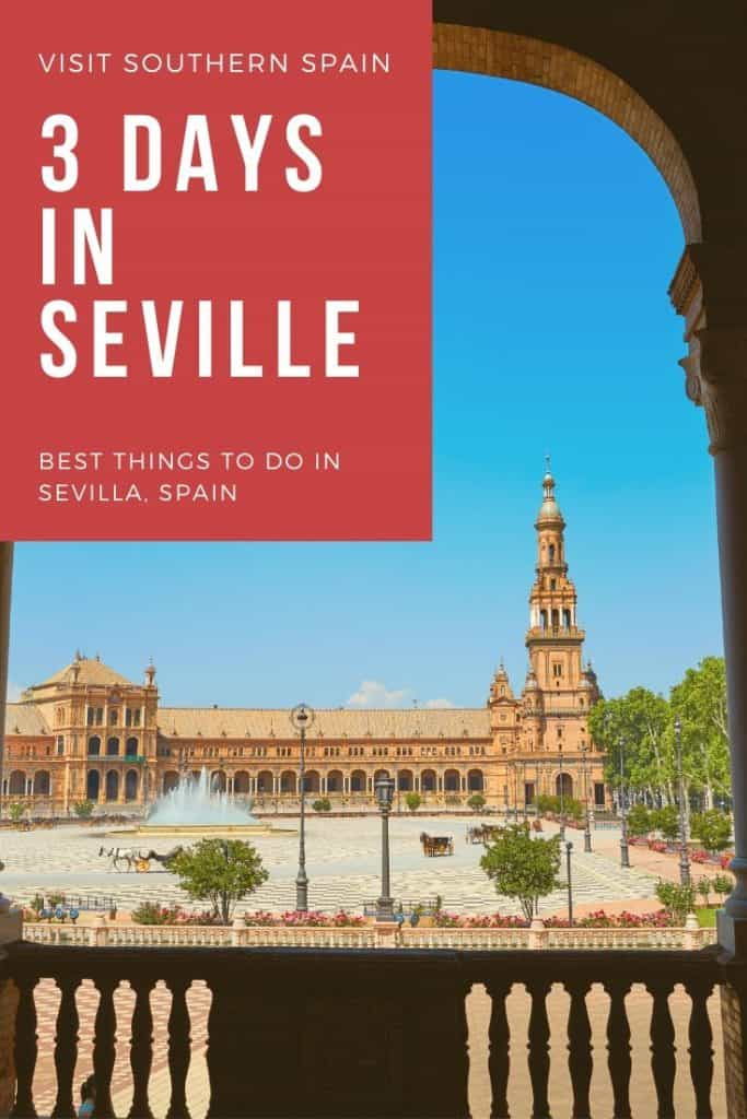 Wondering about the best things to do in Seville, Spain? Discover the perfect 3-day itinerary with must-see attractions in Sevilla, Andalucia, the best hotels, the best restaurants and where to see flamenco in Seville. And of course, our local's tips when it comes to tapas and viewpoints. #seville #sevilla #andalucia #southernspain #spain #andalucia #andalusia #besthingstodoinseville #sevilleitinerary