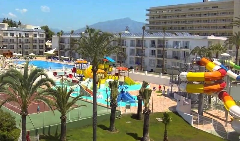 Estepona 3 day itinerary, water park