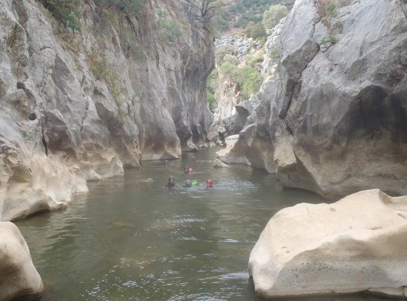 3 day itinerary Benalmadena, Go Canyoning in Buitreras