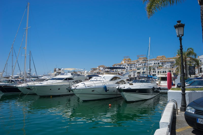 Things to do in Marbella, Charter a boat