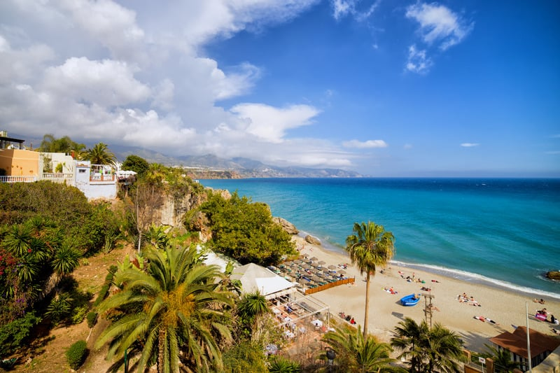 Things to do in Nerja, beach, southern spain
