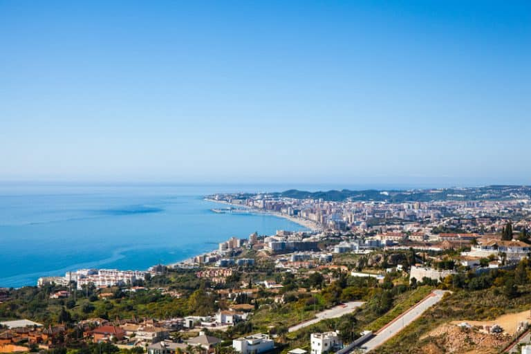 Things to do in Fuengirola, aerial view