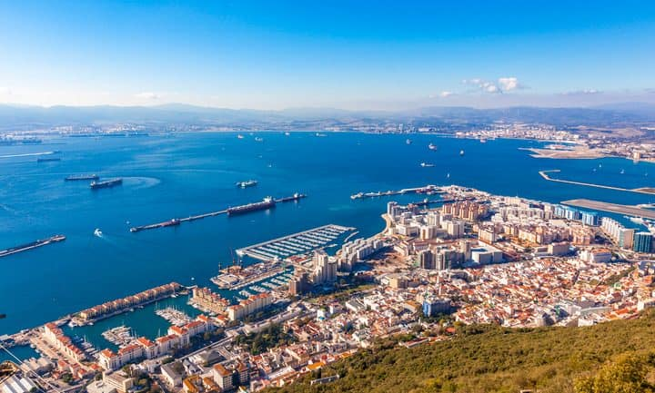 things to do in Gibraltar, a picturesque view