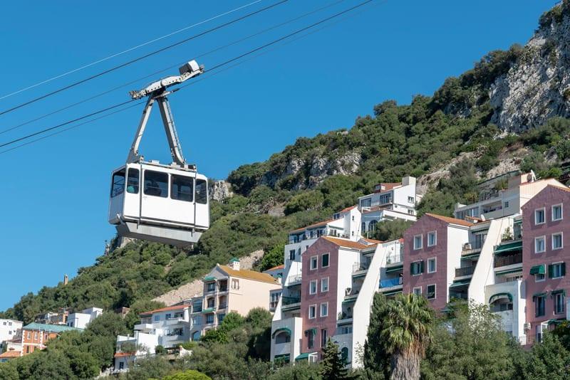 Gibraltar guide, Cable Car