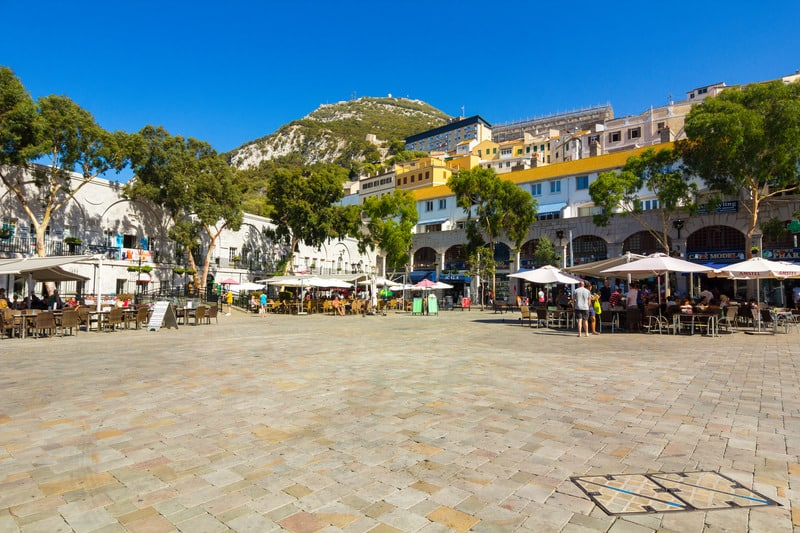 Gibraltar travel itinerary, Explore the historic centre