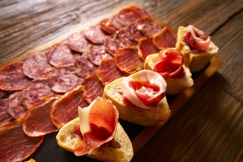 3 day itinerary Nerja, tapas, spanish ham