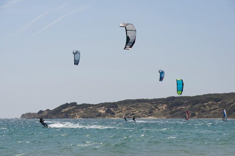 3 day itinerary Tarifa, Learn how to kitesurf