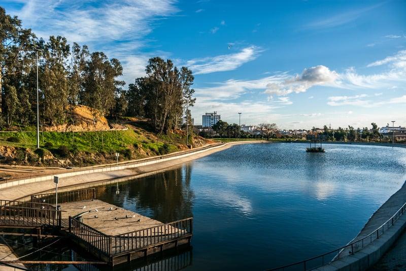 3 day itinerary Huelva, park Moret